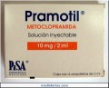 PRAMOTIL SOL. INY. 10 MG/ 2 ML